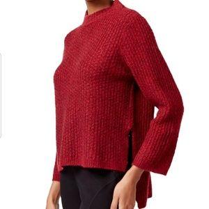 RACHEL Rachel Roy Mock-Neck Hi-lo Pullover Sweater